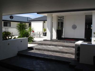 Pauls Haus Eingang