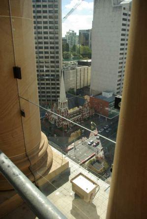 Ausblick vom Rathaus