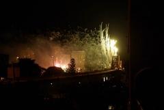 Feuerwerk Story Brigde