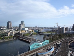 Ausblick vom Hotel auf die Stadt