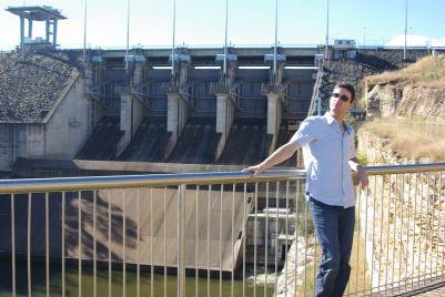 Wivenhoe Dam Spill Way