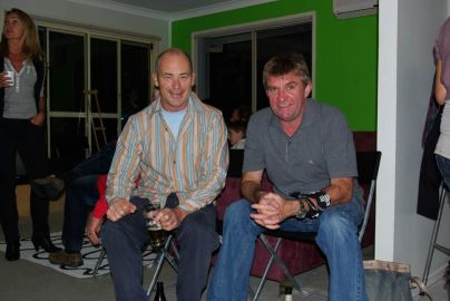 Terry und Paul v.l.