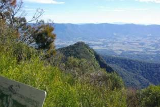 Ausblick vom Mount Warning
