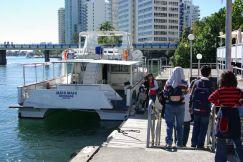 Abfahrt Boot