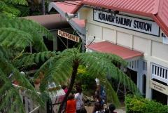 Bahnhof in Kurunda