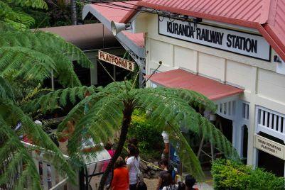 Bahnhof in Kuranda
