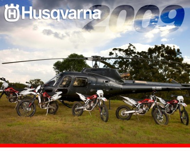 Husqvarna Launch Model Year 2009