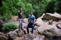 Wieder zwei Typen im Regenwald