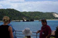 Ankunft auf Moreton Island