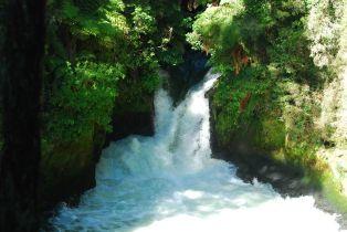 Der 7 m Wasserfall