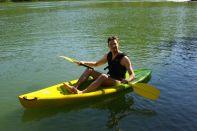 Ich im Kayak