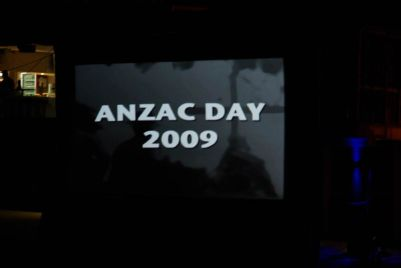 ANZAC Day Dawn Service am Strand