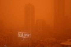 Sydney Sandsturm Stadt