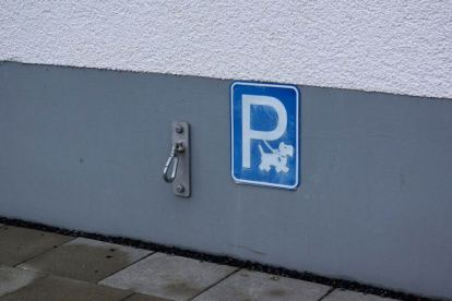 Parkplatz für Hunde, vielleicht auch was für Oz