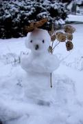 Noch kleinerer Schneemann