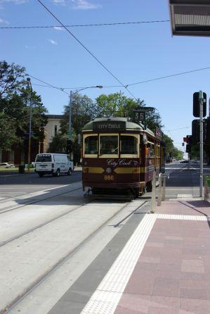 Touristen Strassenbahn