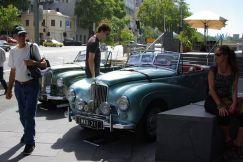 Vintage Car Ausstellung