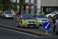 WRC mitten in der Stadt