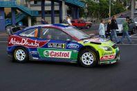 WRC mitten in der Stad