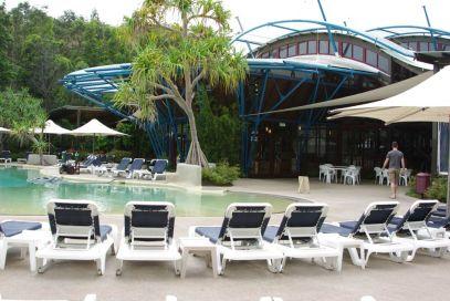 Kindfisher Resort Außenanlage