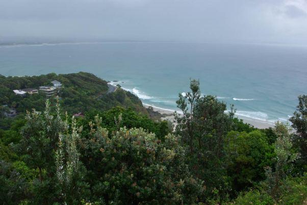 Byron Bay bei Regen