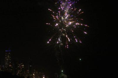 Feuerwerk zur Begrüßung von 2011