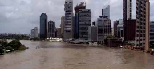 Brisbane geht unter