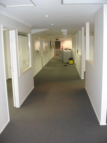 Neuer Bürobereich