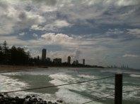 Blick nach Surfers Paradise