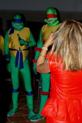 Und die Teenage Mutant Ninja Turtles