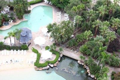 Salzwasserpool & Normal Pool