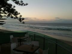Ausblick vom Surfers Club