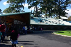 Eingang Auckland Zoo