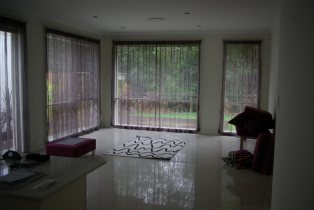Wohnzimmer im Aufbau