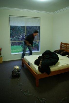 Schlafzimmer fast fertig