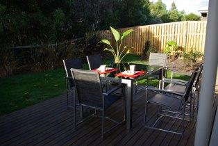 Neue Gartenmöbel