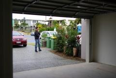 Hm, der Nachbar kann da nicht mehr parken