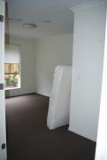 Schlafzimmer im Aufbau