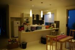Neue Küche im Aufbau