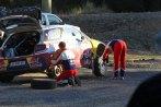 Citroën's #2 bein Reifenwechsel