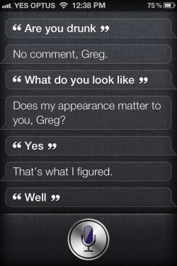 Unterhaltung mit dem iPhone 4S
