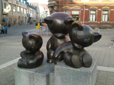 Drei Bären in Sonneberg