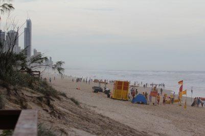 Broadbeach mit Blick nach Surfers