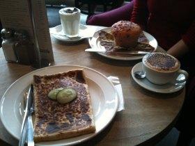 iPhone Bilder Frühstück in Torquay