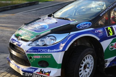 Schöner Ford Fiesta WRC, Jari Latvala