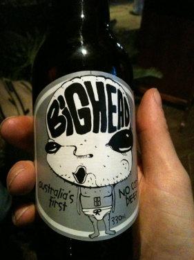 Bighead Bier - no carbs at all