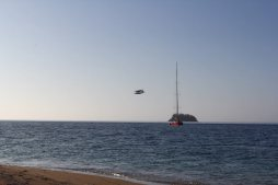 Whitsunday, Meer, Sonne, Strand, Boot und Flugzeug