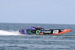 250 km/h auf dem Wasser