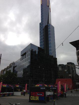 Immer wieder beeindruckend, Skyline in Melbourne