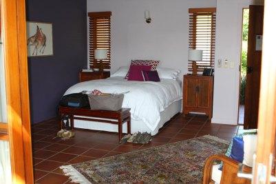 Unser Bett im Resort